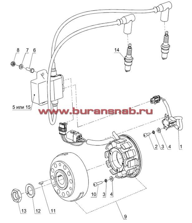 Система зажигания Ducati